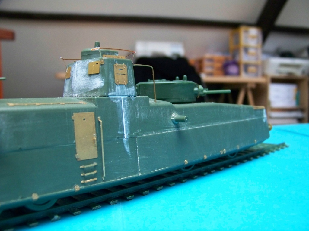 Motorized Armored Railcar MBV-2 au 1/72 de chez Military UM technics - Page 2 102_6043