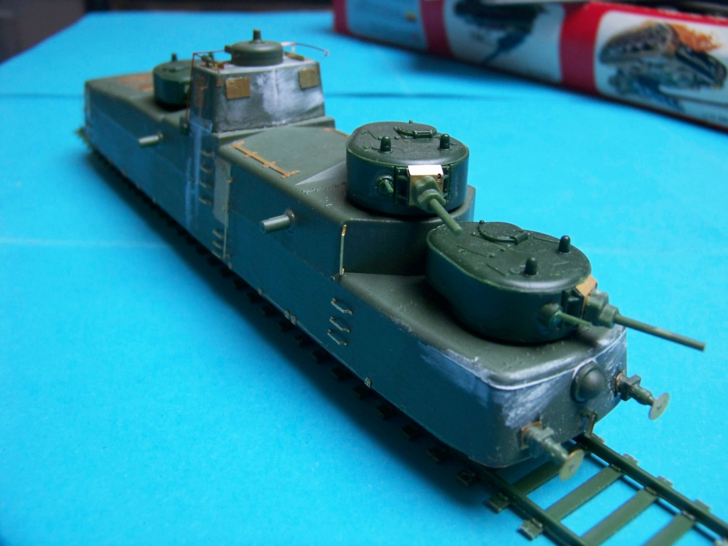 Motorized Armored Railcar MBV-2 au 1/72 de chez Military UM technics - Page 2 102_6045