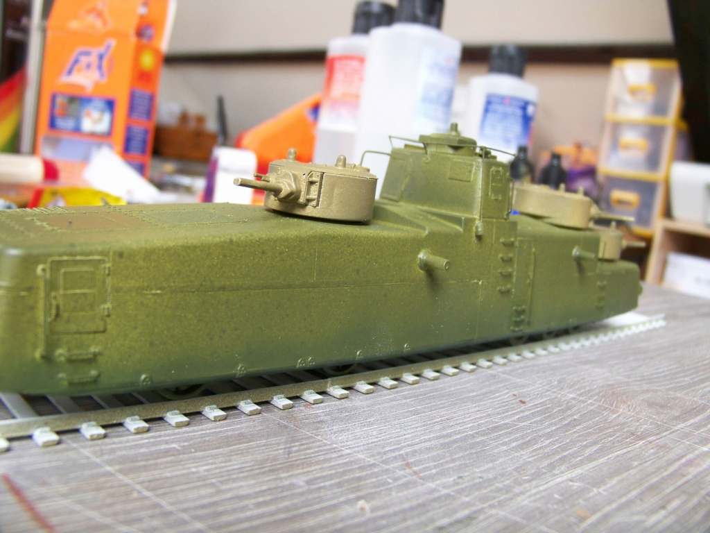 Motorized Armored Railcar MBV-2 au 1/72 de chez Military UM technics - Page 2 102_6150
