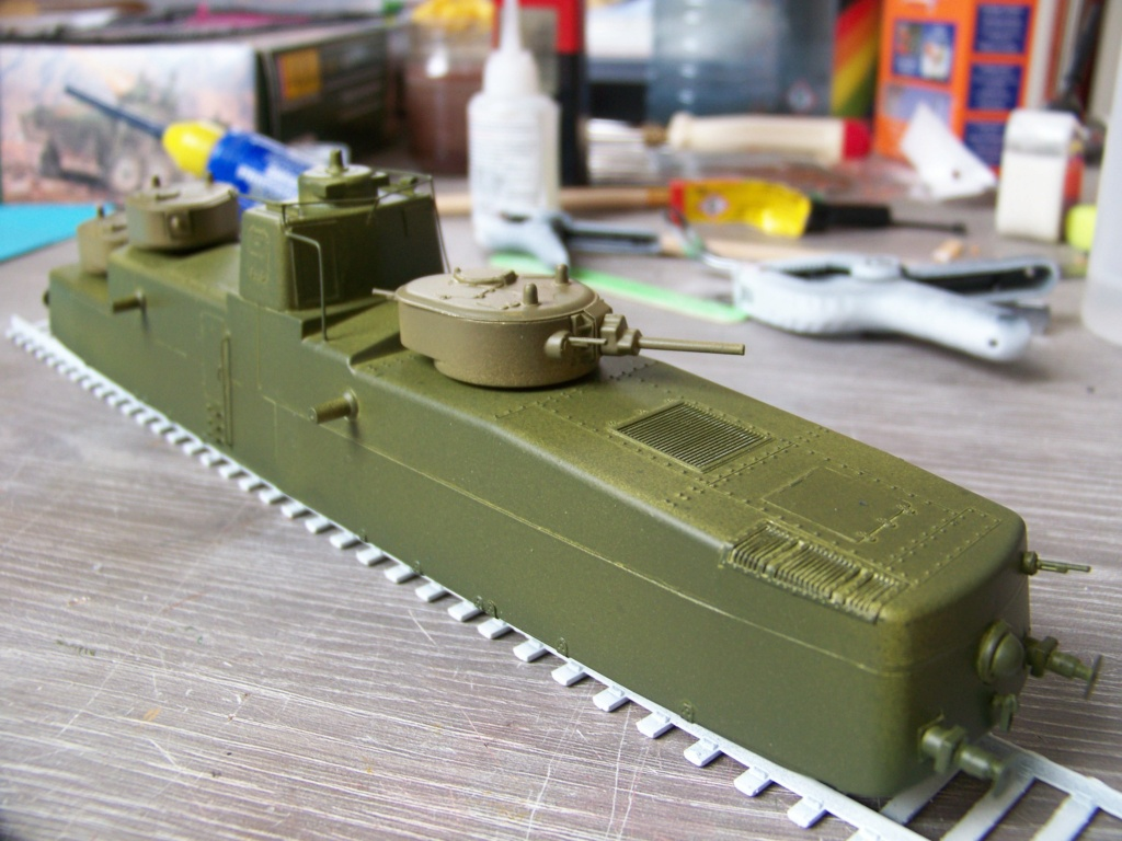 Motorized Armored Railcar MBV-2 au 1/72 de chez Military UM technics - Page 2 102_6151