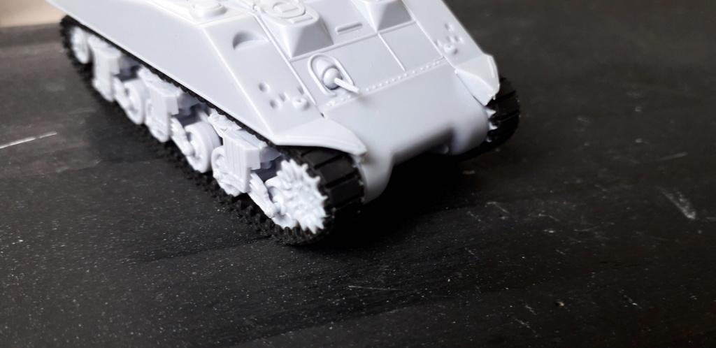 Sherman M4A2 au 1/72 de Heller  20200314