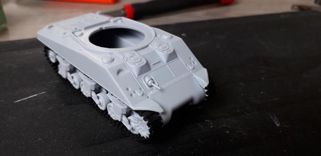 Sherman M4A2 au 1/72 de Heller  20200315