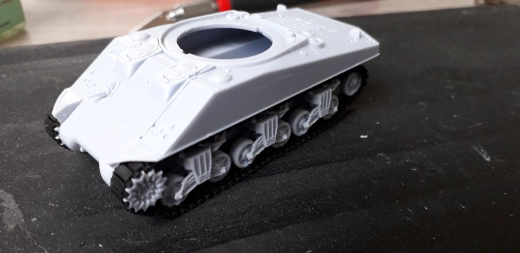 Sherman M4A2 au 1/72 de Heller  20200317