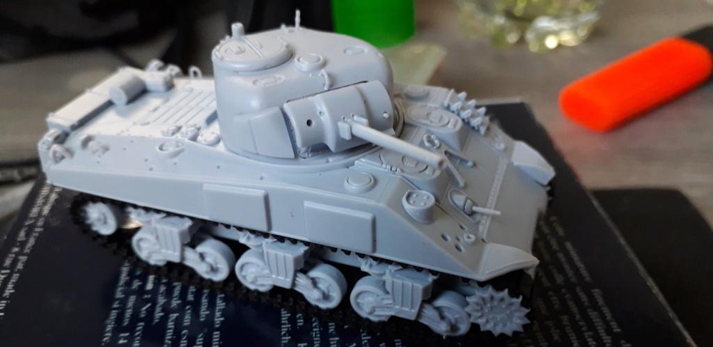 Sherman M4A2 au 1/72 de Heller  20200328