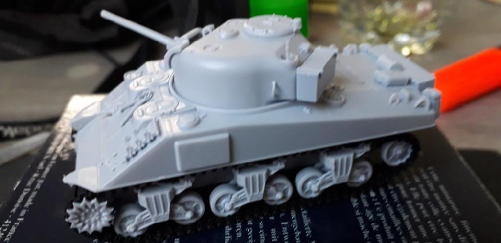 Sherman M4A2 au 1/72 de Heller  20200330