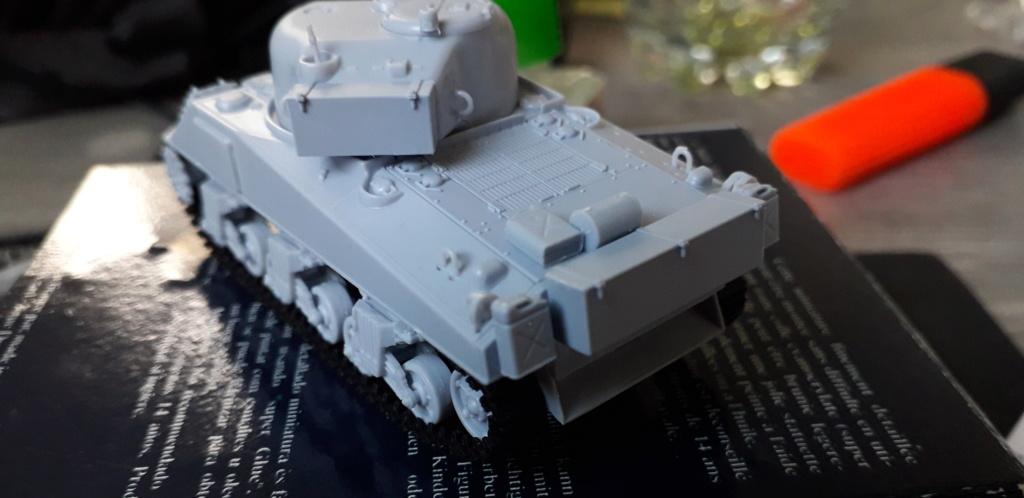 Sherman M4A2 au 1/72 de Heller  20200332