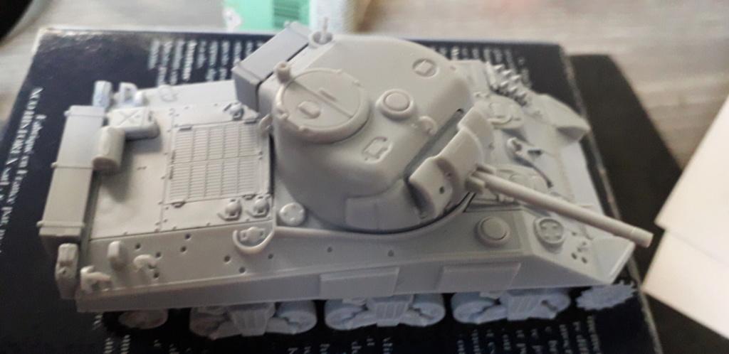 Sherman M4A2 au 1/72 de Heller  20200333