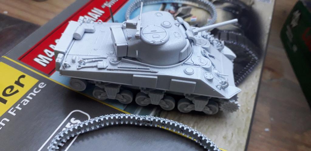 Sherman M4A2 au 1/72 de Heller  20200351