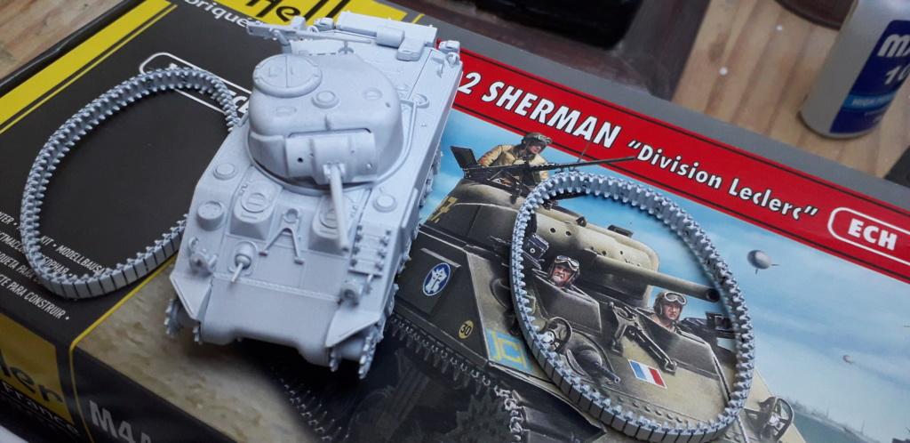 Sherman M4A2 au 1/72 de Heller  20200352