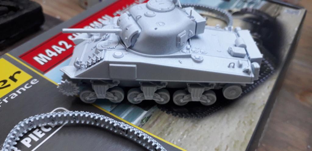 Sherman M4A2 au 1/72 de Heller  20200353