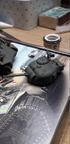 Sherman M4A2 au 1/72 de Heller  - Page 2 20200356