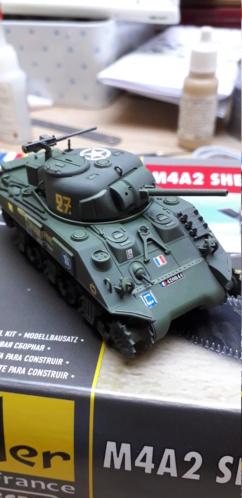 Sherman M4A2 au 1/72 de Heller  - Page 2 20200367