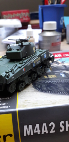 Sherman M4A2 au 1/72 de Heller  - Page 2 20200371