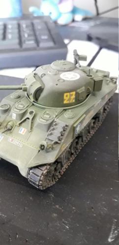 Sherman M4A2 au 1/72 de Heller  - Page 2 20200412