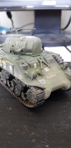 Sherman M4A2 au 1/72 de Heller  - Page 2 20200417
