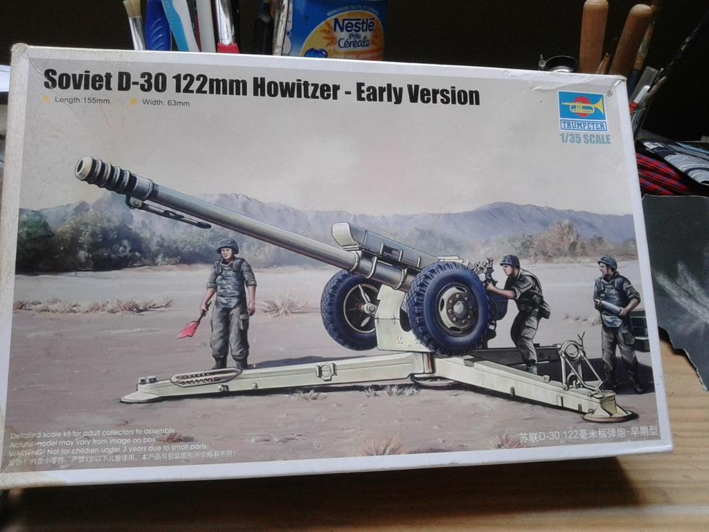 Howitzer D30 de 122mm au 1/35 de Trumpeter et Ural 4320 de zvezda Img_2258