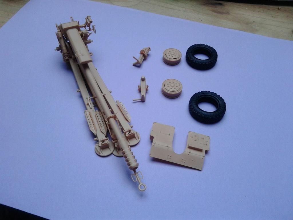 Howitzer D30 de 122mm au 1/35 de Trumpeter et Ural 4320 de zvezda Img_2281