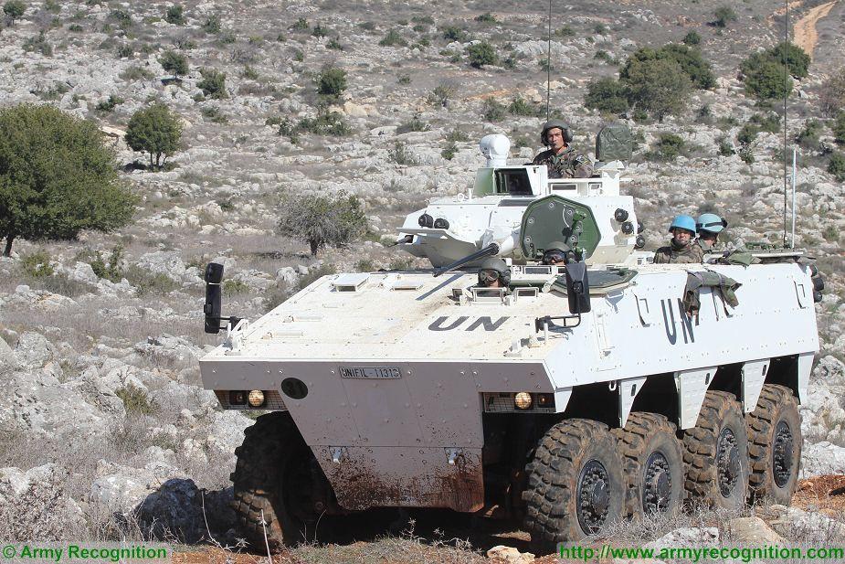 le véhicule blindé de combat ou VBCI de Heller au 1/35 Vbci_u10