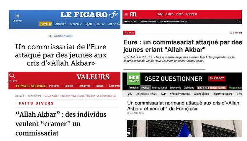 """Ils ont crié """"Allah Akbar"""" et """"****** de Français"""" (Article) Fachos10"""
