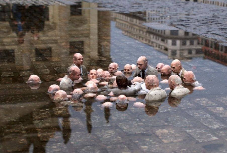 Dérèglements climatiques Scultu10