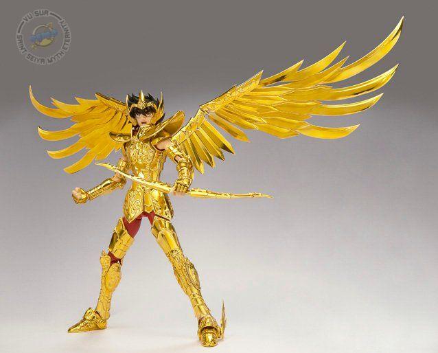 Sagittarius Seiya Gold Cloth Presse58