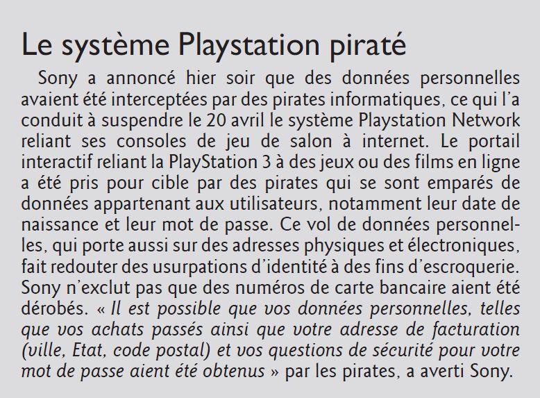 PlayStation Network hacké Psn10
