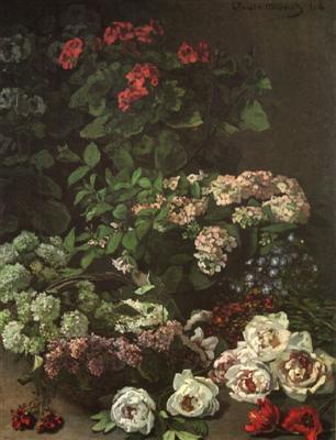 Les FLEURS  dans  L'ART Monet210
