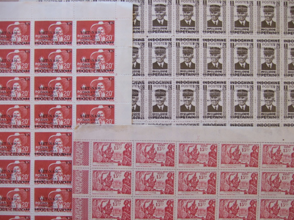 Planches timbres Indochine Française 1939 Petain ....ESC SEPT1 Dscf6018