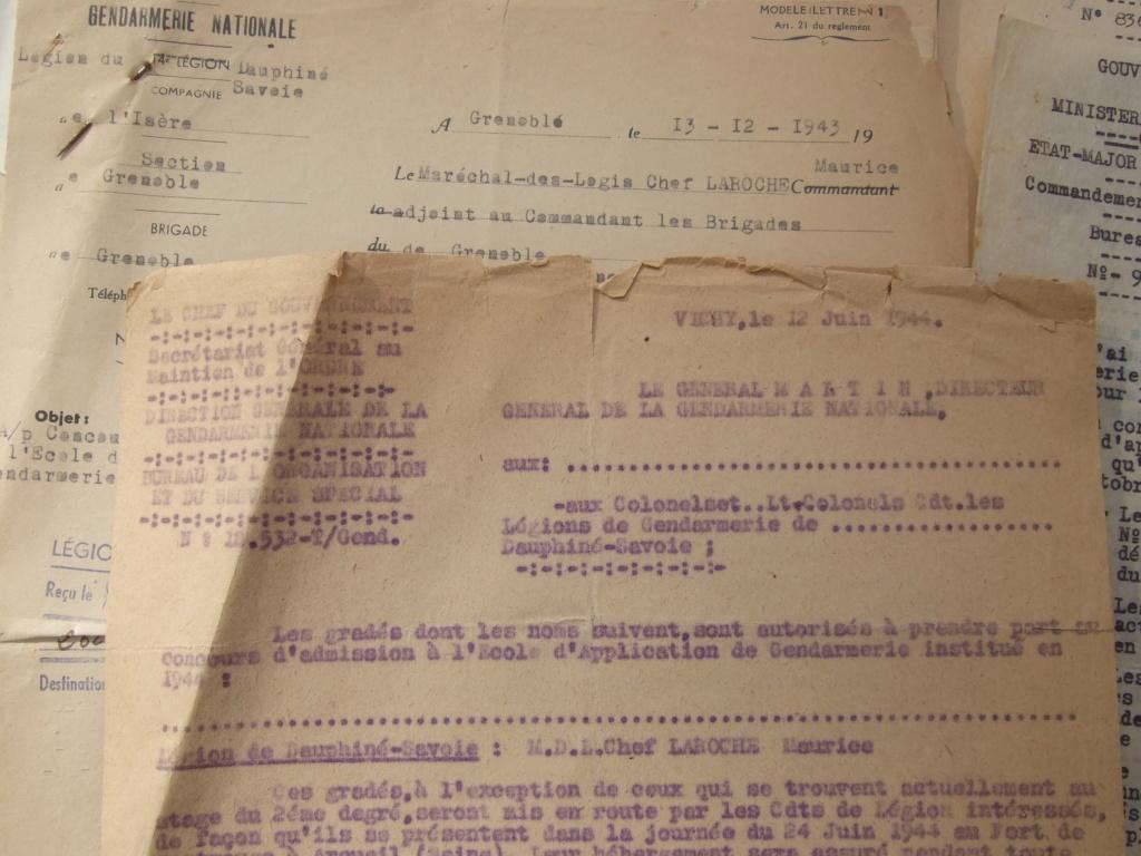 Tres beau lot papiers OFF Armee de l'air avant 40 et Gendarmerie 40 à 62 France,Afrique et autres -ALPINS-OCT1 ( Forte baisse ...) Dscf6054