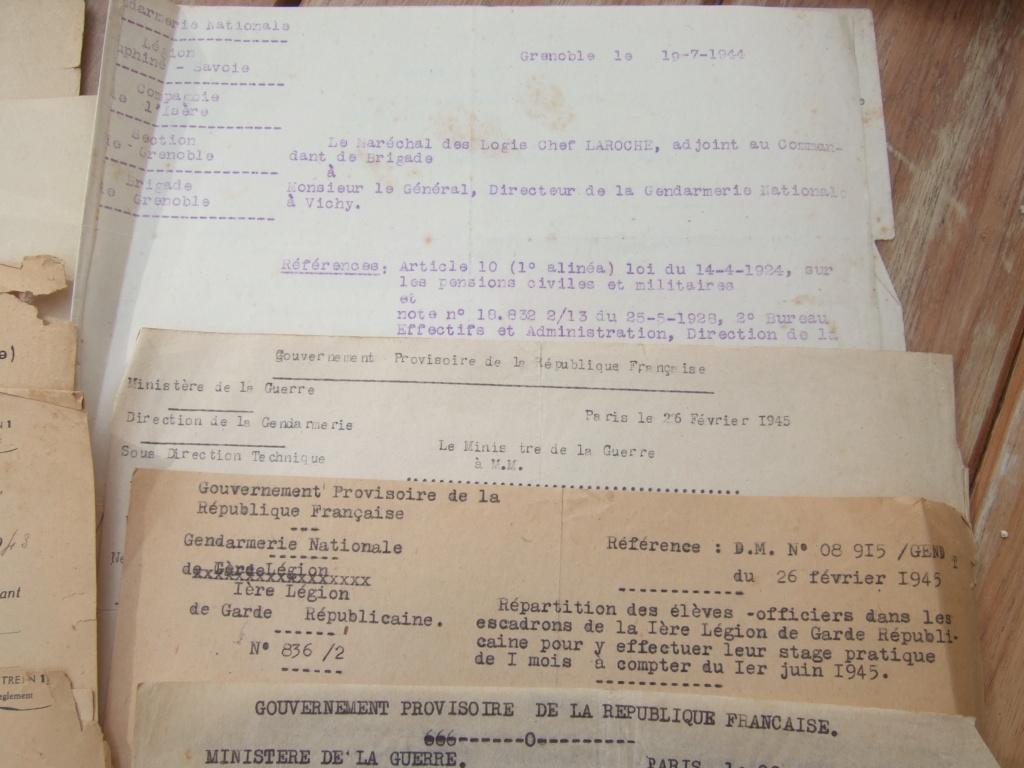 Tres beau lot papiers OFF Armee de l'air avant 40 et Gendarmerie 40 à 62 France,Afrique et autres -ALPINS-OCT1 ( Forte baisse ...) Dscf6055