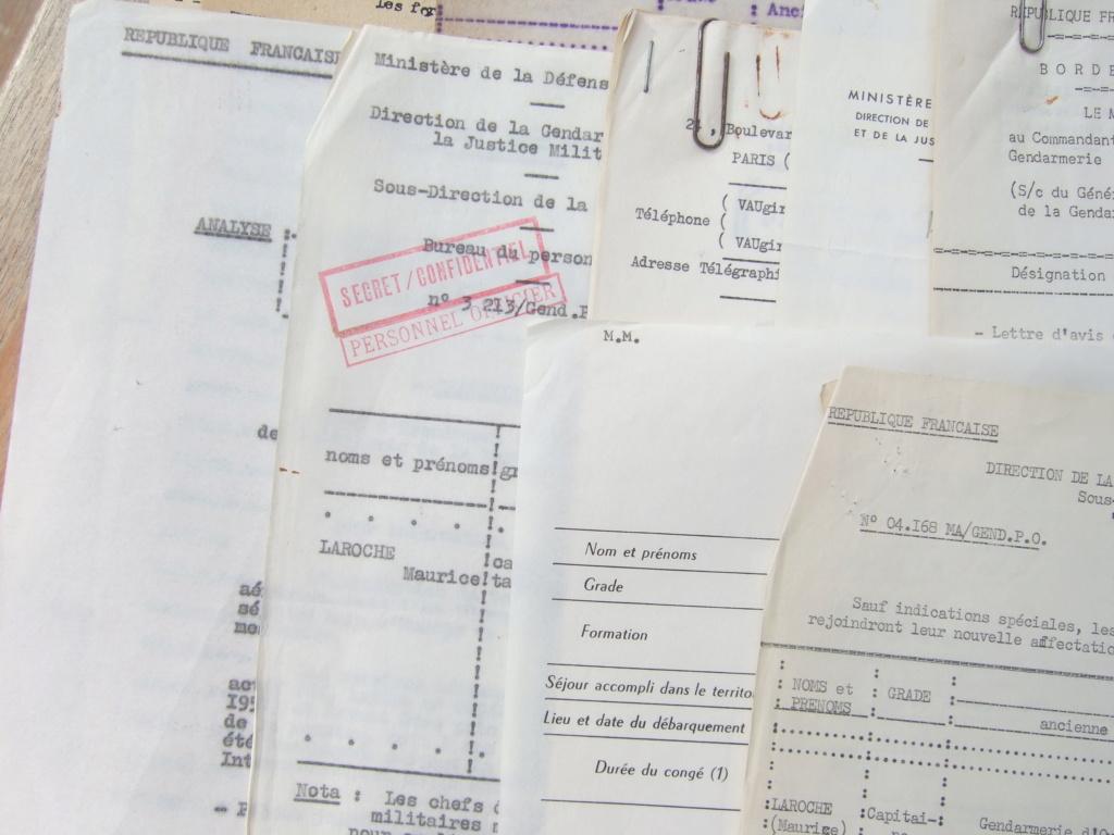Tres beau lot papiers OFF Armee de l'air avant 40 et Gendarmerie 40 à 62 France,Afrique et autres -ALPINS-OCT1 ( Forte baisse ...) Dscf6059
