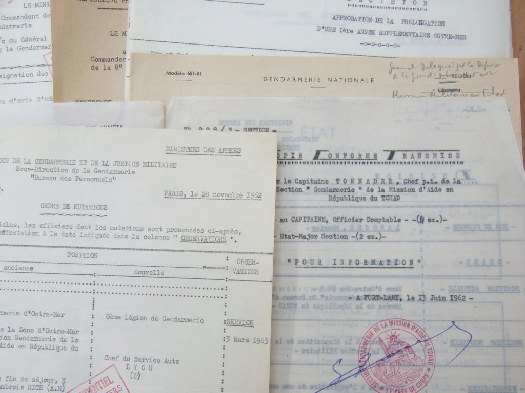 Tres beau lot papiers OFF Armee de l'air avant 40 et Gendarmerie 40 à 62 France,Afrique et autres -ALPINS-OCT1 ( Forte baisse ...) Dscf6060