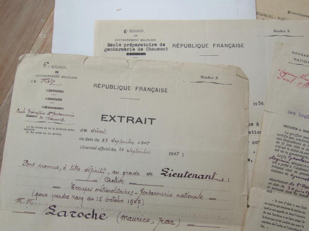 Tres beau lot papiers OFF Armee de l'air avant 40 et Gendarmerie 40 à 62 France,Afrique et autres -ALPINS-OCT1 ( Forte baisse ...) Dscf6063