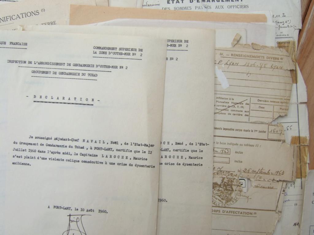 Tres beau lot papiers OFF Armee de l'air avant 40 et Gendarmerie 40 à 62 France,Afrique et autres -ALPINS-OCT1 ( Forte baisse ...) Dscf6068