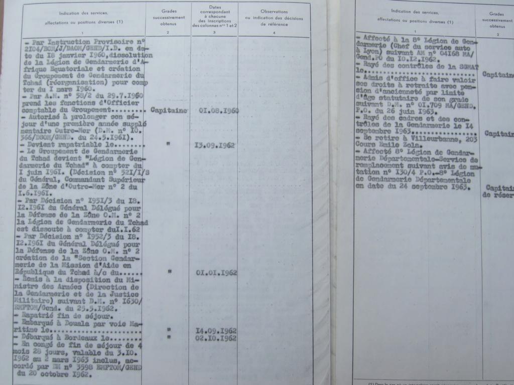 Tres beau lot papiers OFF Armee de l'air avant 40 et Gendarmerie 40 à 62 France,Afrique et autres -ALPINS-OCT1 ( Forte baisse ...) Dscf6074