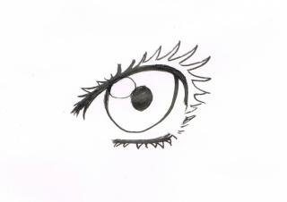 Tuto: dessiner des yeux féminins 212