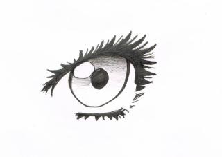 Tuto: dessiner des yeux féminins 411