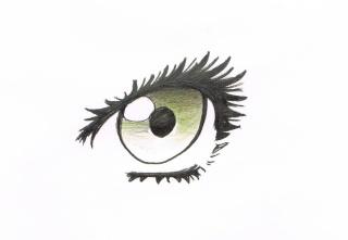 Tuto: dessiner des yeux féminins 511