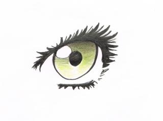 Tuto: dessiner des yeux féminins 612