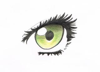 Tuto: dessiner des yeux féminins 711
