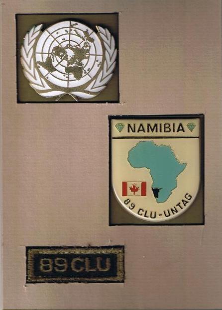 Badges from 89 CLU - Namibia 89_clu10