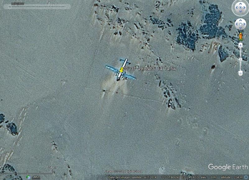 l'épave du SAAF 1716 AVRO X10