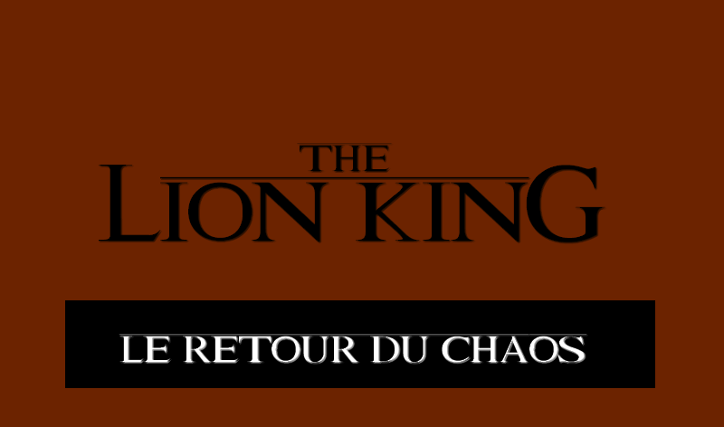 Le Roi Lion V