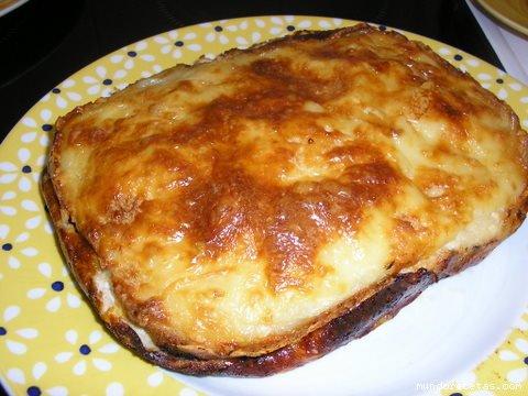 Lasaña de pan de molde...!!! Comida10