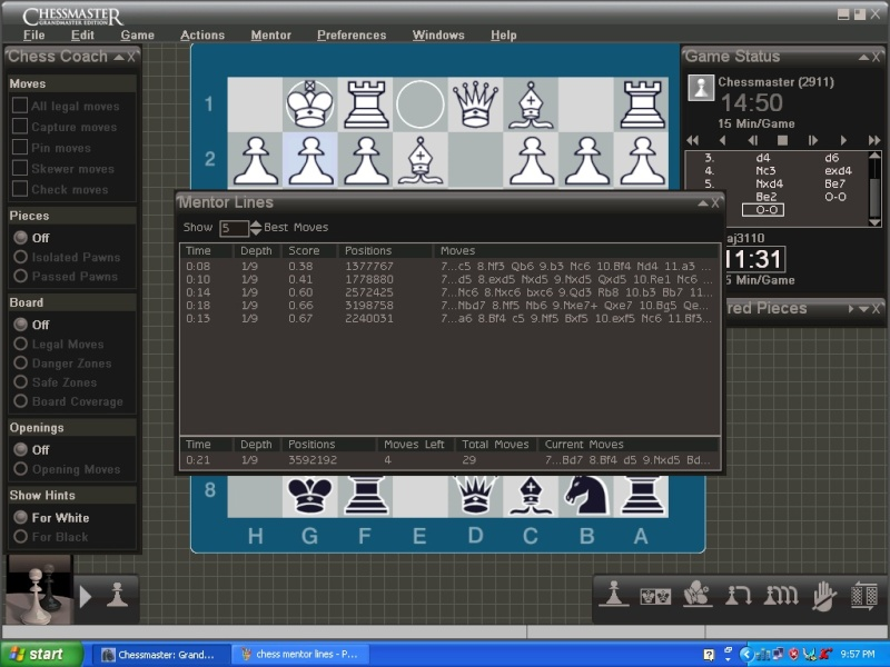 Need help in understanding chess mentor lines Chess_11
