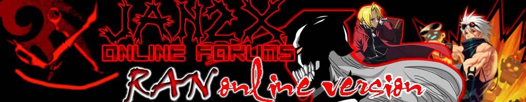 JAN2X Online Forums