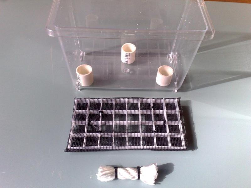 [HOW TO] Build a False bottom using nylon rope wicks Fb110