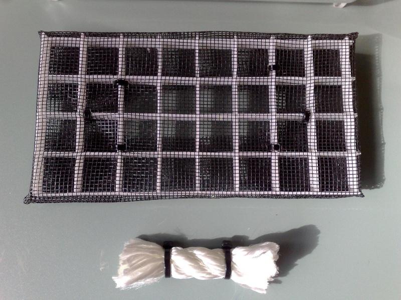[HOW TO] Build a False bottom using nylon rope wicks Fb210