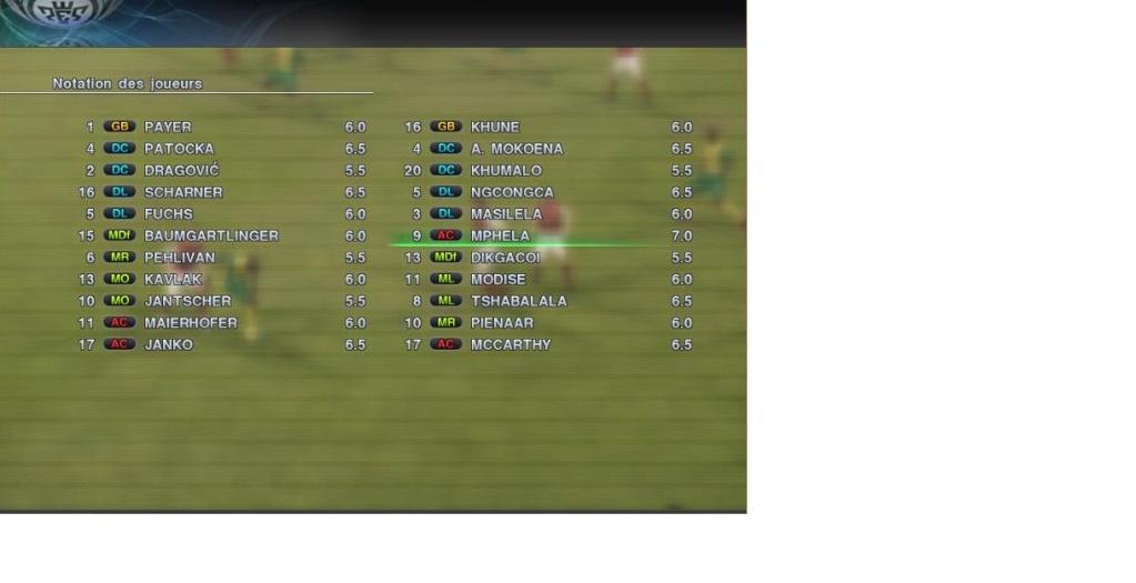 Autriche 1 - 2 Afrique du sud Aturch10