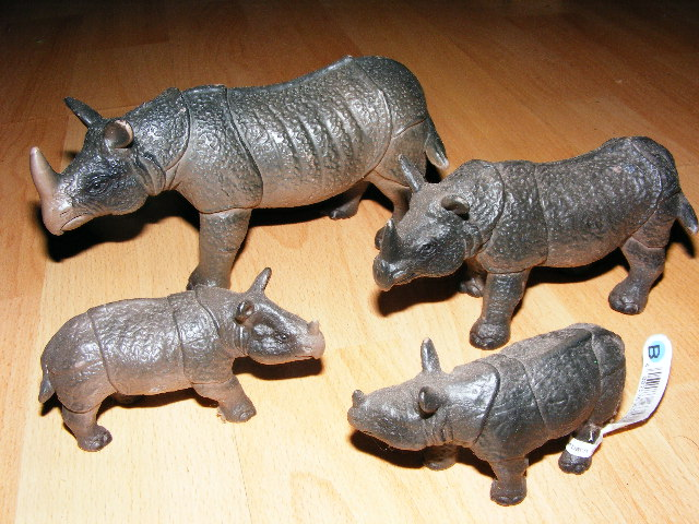 The Javan rhino from Bullyland :-) Bully10